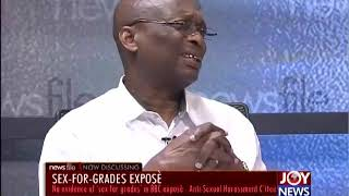 SEX FOR GRADES: Argument about the title is of no moment to me - Kweku Baako