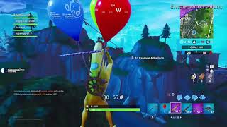Fortnite Staffel 8 Wie man emote mit Ballons Glitch