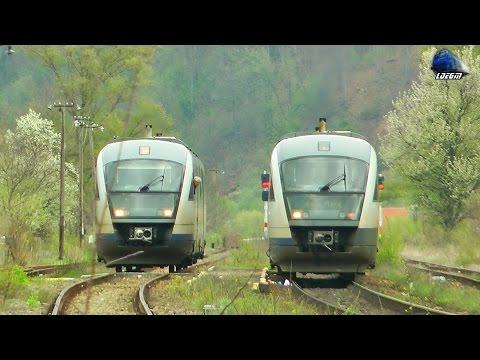 Trenuri CFR Calatori Trains in Defileul Crisului Repede`s Canyon [Spring Edition] - 14 April 2017