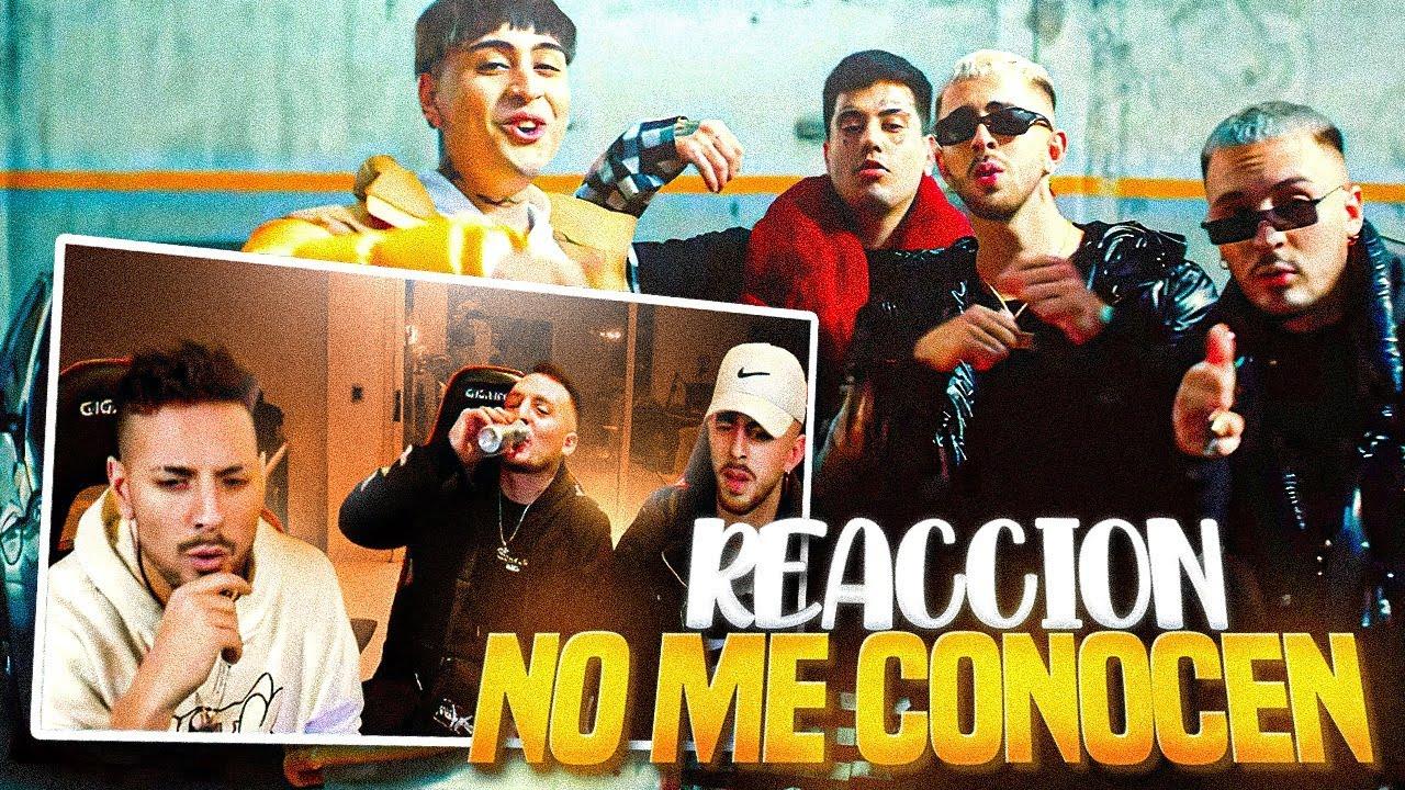 Download REACCIONANDO a NO ME CONOCEN (REMIX) - BANDIDO, DUKI, REI, TIAGO PZK