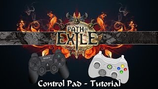 Path Of Exile: Control Pad Tutorial (XBOX, PS, Steam)