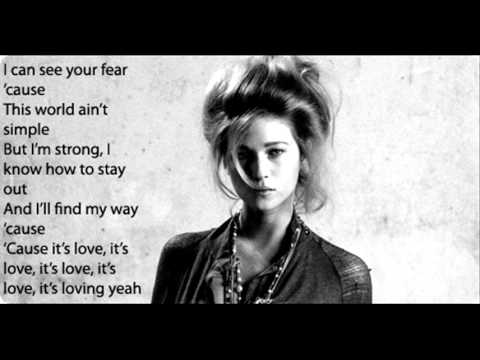 "Selah Sue ""This world"" karaoke"