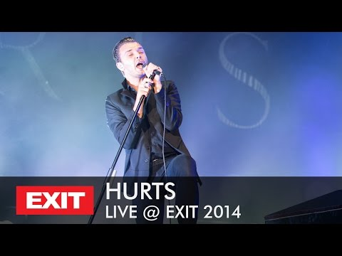 Hurts - Wonderful Life LIVE @ EXIT...
