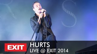 Hurts - Wonderful Life LIVE @ EXIT Festival 2014 | Best Major European Festival Full HD