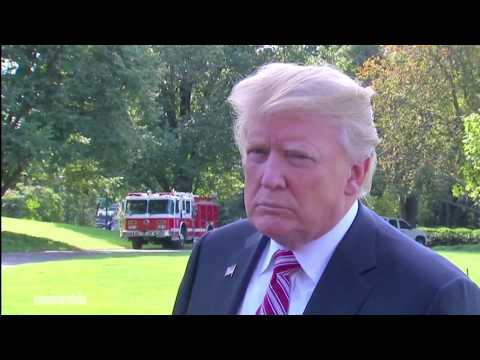President Trump Press Conference on Tom Price, Puerto Rico & NFL owners players