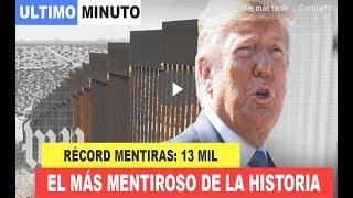 EE.UU: Trump presidente estadounidense MÁS MENTIROSO historia ((INVESTIGACIÓN The Washington Post))