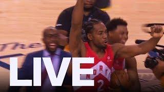 Drake Reacts To Toronto Raptors Finals Win | ET Canada LIVE