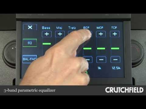 Jensen VM9116 Car DVD Receiver Display And Controls Demo | Crutchfield Video