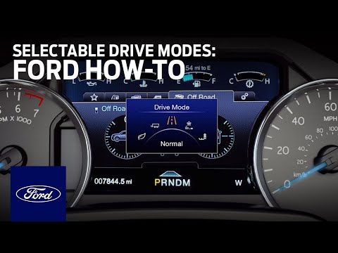 How to Use Selectable Drive Modes | Ford How-To | Ford