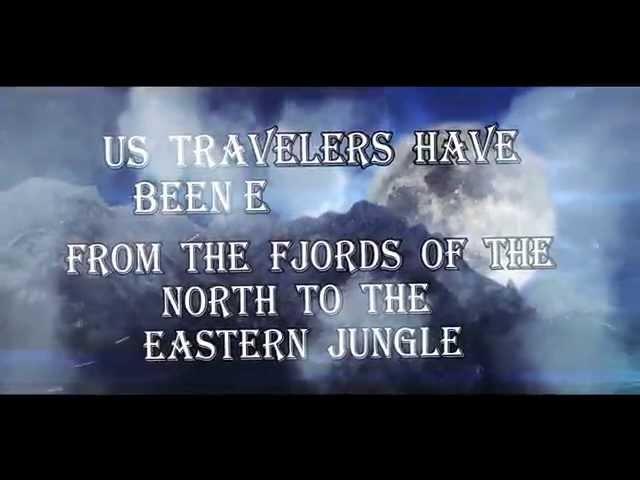 Distoriam - Us, Travelers (Official Lyrics Video)