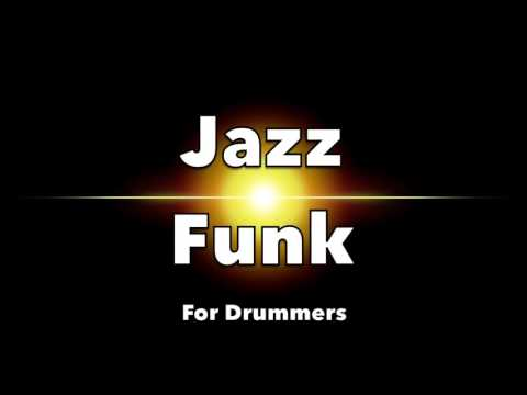 Jazz Funk Backing Track for Drummers - 110 BPM (NO DRUMS)