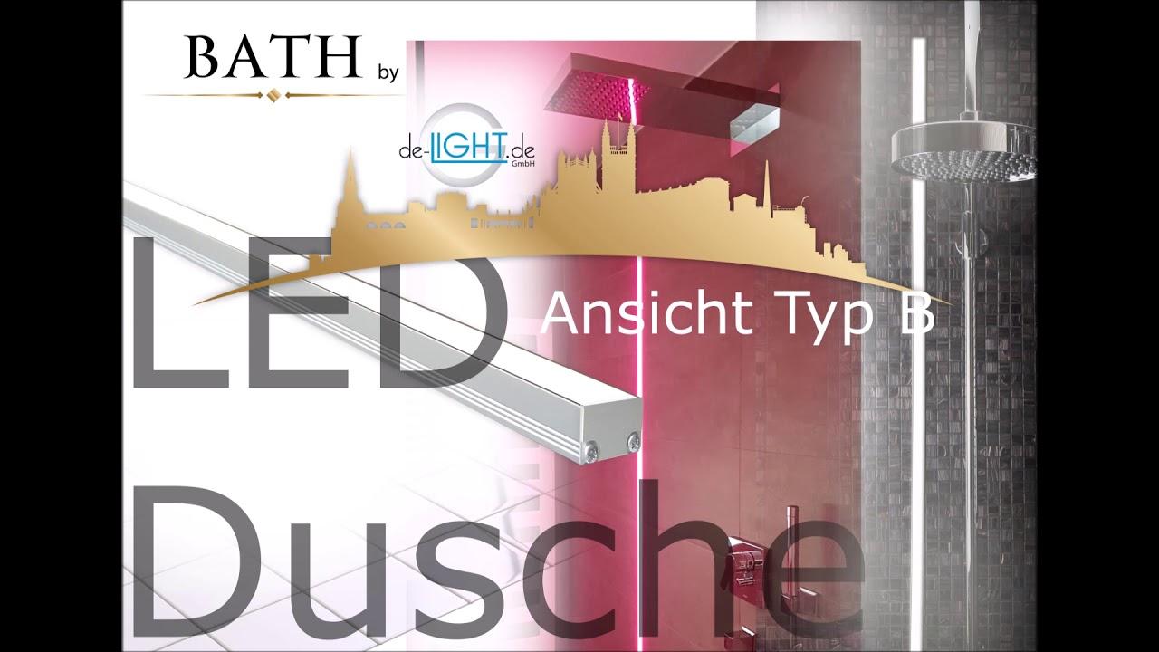 LED Lichtleiste Dusche & Nische Bad