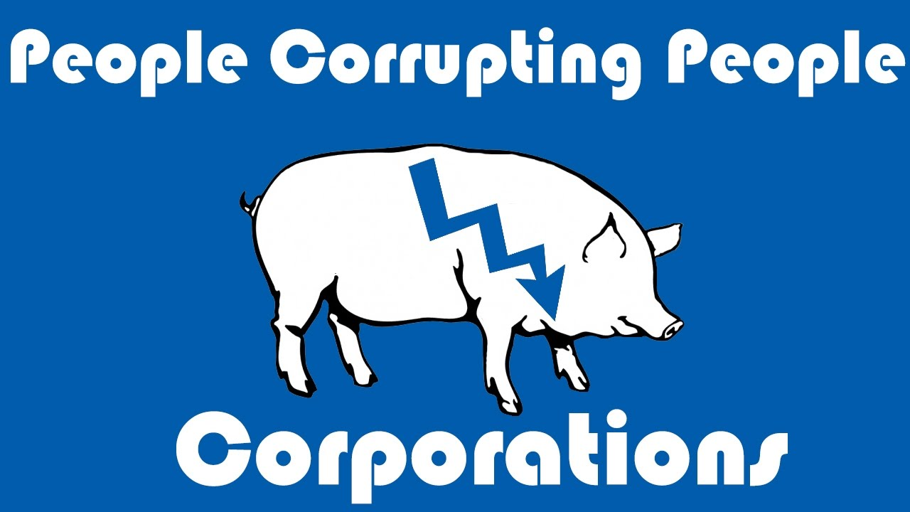 You head corporate fucking pigs your