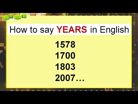 Как произносить числа на английском
