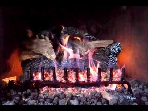 """Gas Log - Eiklor 24"""" Rocky Mountain Split - YouTube"""