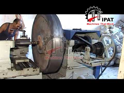 HIPAT BRAND EXTRA HEAVY DUTY LATHE MACHINE (LENGTH OF BED-12 FEET)