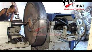 Hipat Brand Extra Heavy Duty Lathe Machine (length Of Bed-12 Feet)