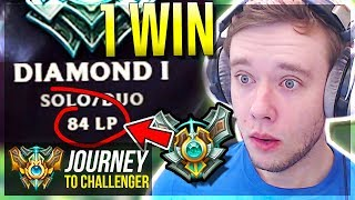 ONLY 1 WIN FROM MASTER PROMOS!!!!!!!!!!!!! IS THIS IT??- Journey To Challenger   League of Legends