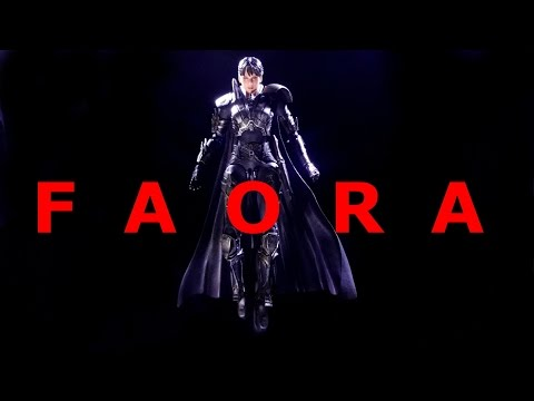 FAORA : MAN OF STEEL PLAY ARTS KAI FIGURE