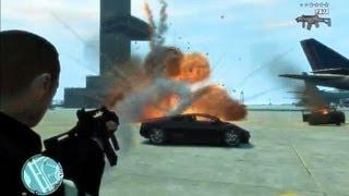 GTA IV Mods: Rocket SMG,Fire Gun,Water Gun,and Grenade Launcher