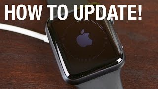 Gambar cover How to Update an Apple Watch