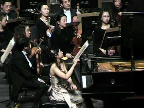 Part 2, Concerto Hungarian Fantasy for Piano and Orchestra of F. Liszt / Anny Hwang