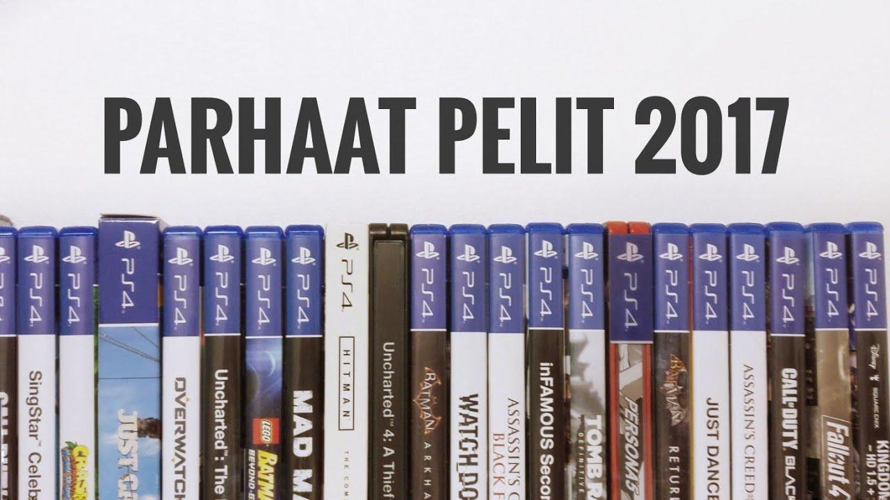 Parhaat Ps4 Pelit