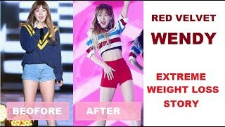 Red Velvet - Wendy Extreme Weight Loss 2013 - 2017