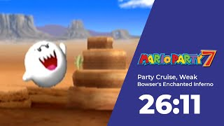 Mario Party 7 Party Cruise, Bowser's Enchanted Inferno Speedrun in 26:11 (WR on 01/31/2020)