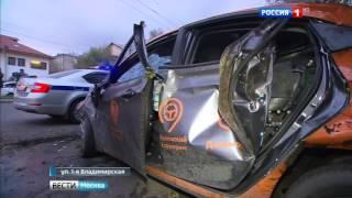 Перед трагическим наездом на пешеходов водитель прокатного Соляриса увеличил скорость