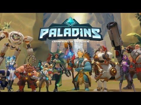 Paladins Tüm Karakterler Oynanış Taktikleri # 1
