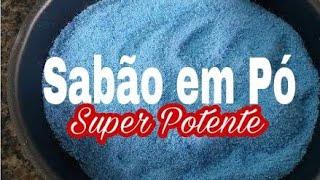 APRENDA A FAZER SABÃO EM PÓ SUPER POTENTE