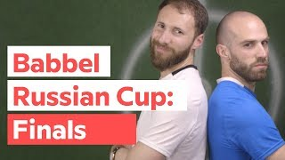 Babbel Russian Cup — Episode 3