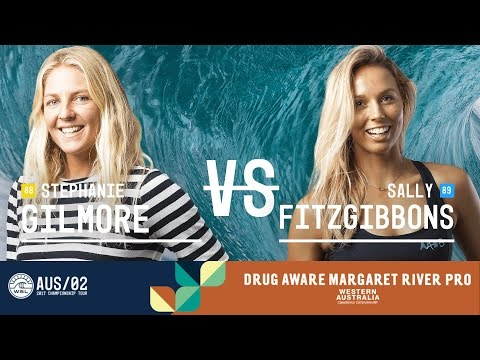 Stephanie Gilmore vs. Sally Fitzgibbons - Semifinals, Heat 2 - Drug Aware Margaret River Pro (W)