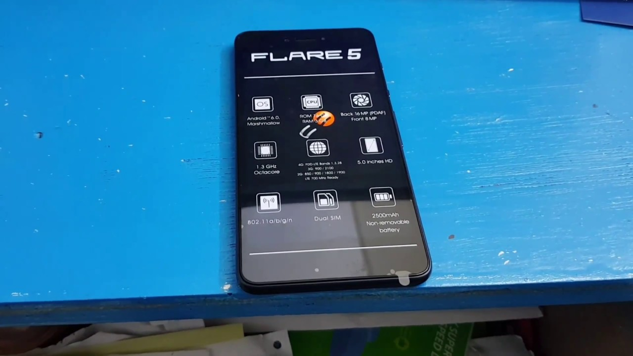 Cherry Mobile Flare 5 Hard Reset
