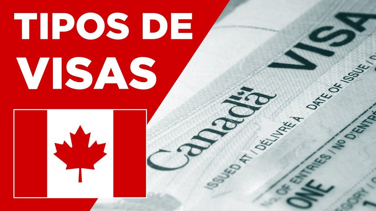 Resultado de imagen de tipos de visado canada