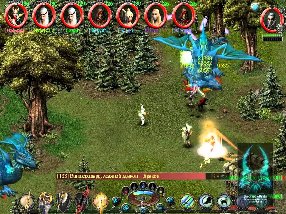 sacred underworld platinum twin dragons multiplayer 8 players