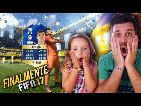 MIA FIGLIA TROVA DYBALA TOTS - FIFA 17 SERIE A