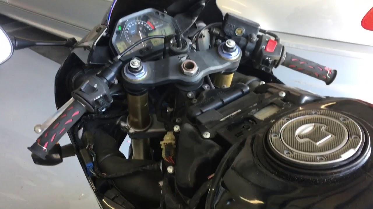 2005 Honda Cbr600rr Idle Adjustment