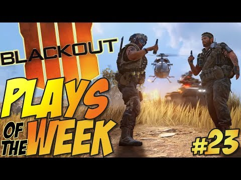 Call of Duty: Black Ops 4 - BLACKOUT Plays Of The Week #23 (BO4 Blackout Plays & Moments Montage) thumbnail