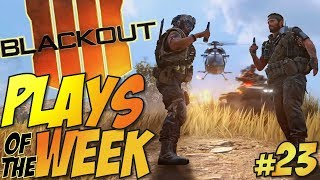 Call of Duty: Black Ops 4 - BLACKOUT Plays Of The Week #23 (BO4 Blackout Plays & Moments Montage)