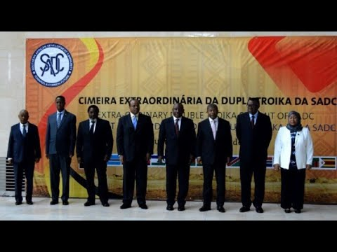 Leaders arrive at SADC summit in Luanda