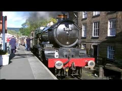 An Afternoon With 5029 Nunney Castle North Yorkshire Moors R
