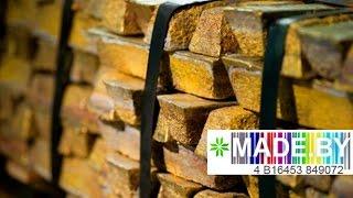 Производство латуни. MADE.BY(Благодаря износостойкости латунь используют как для изготовления дверных ручек, так и в судостроении...., 2015-10-23T10:46:24.000Z)