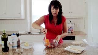 How To Make Easy Greek Kalamata Olive Bruschetta