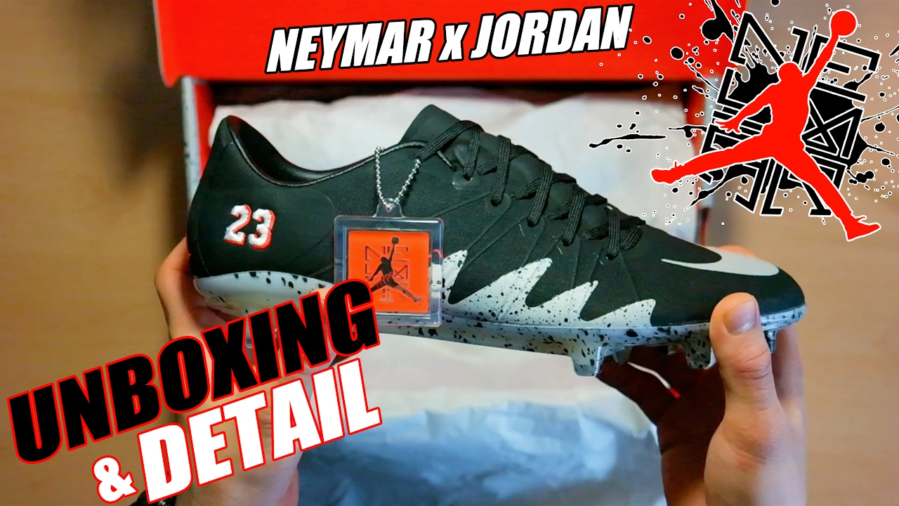 26715a495 Unboxing   Detail  Hyperevenom Phinish Neymar X Jordan