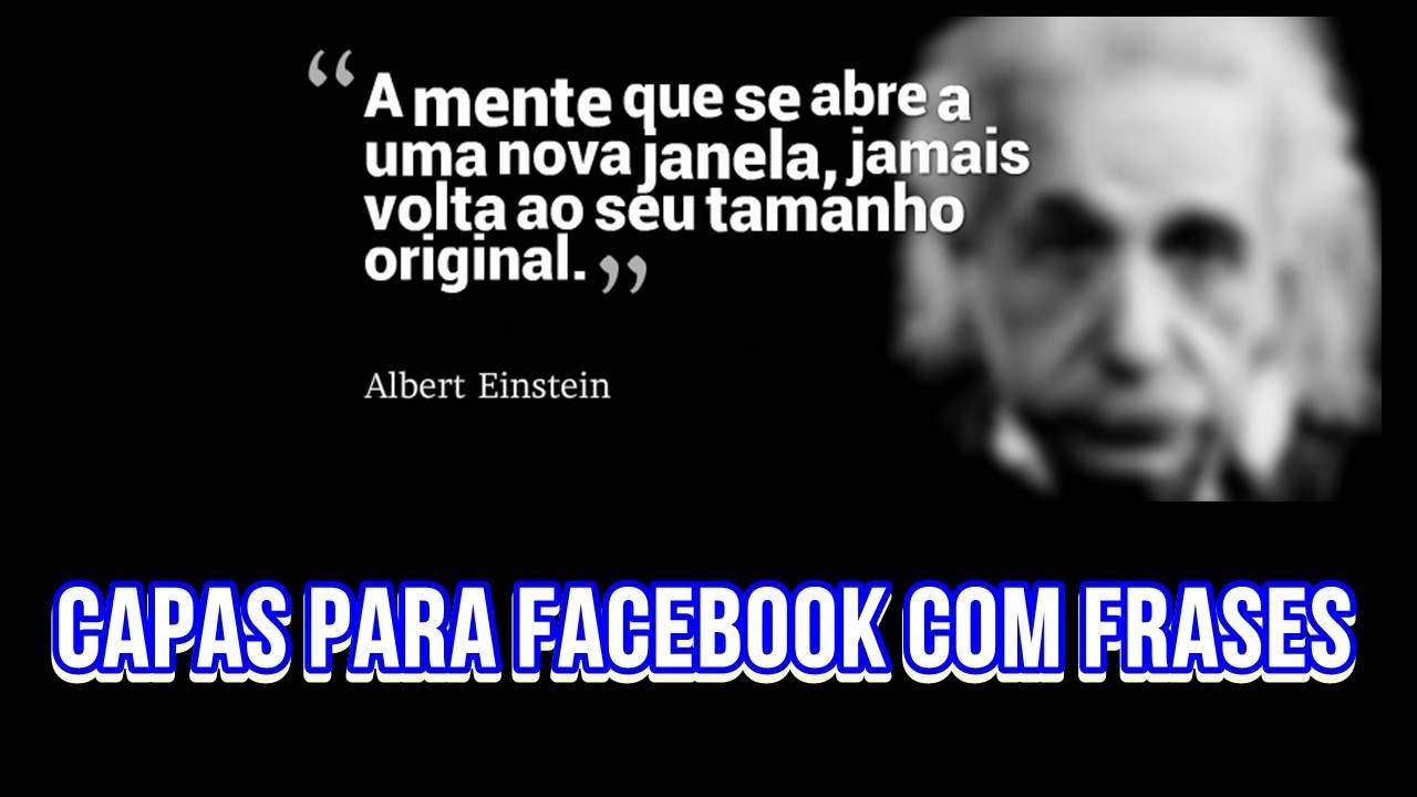Frase Para Facebook: Fazer Capas Para Facebook Com Frases