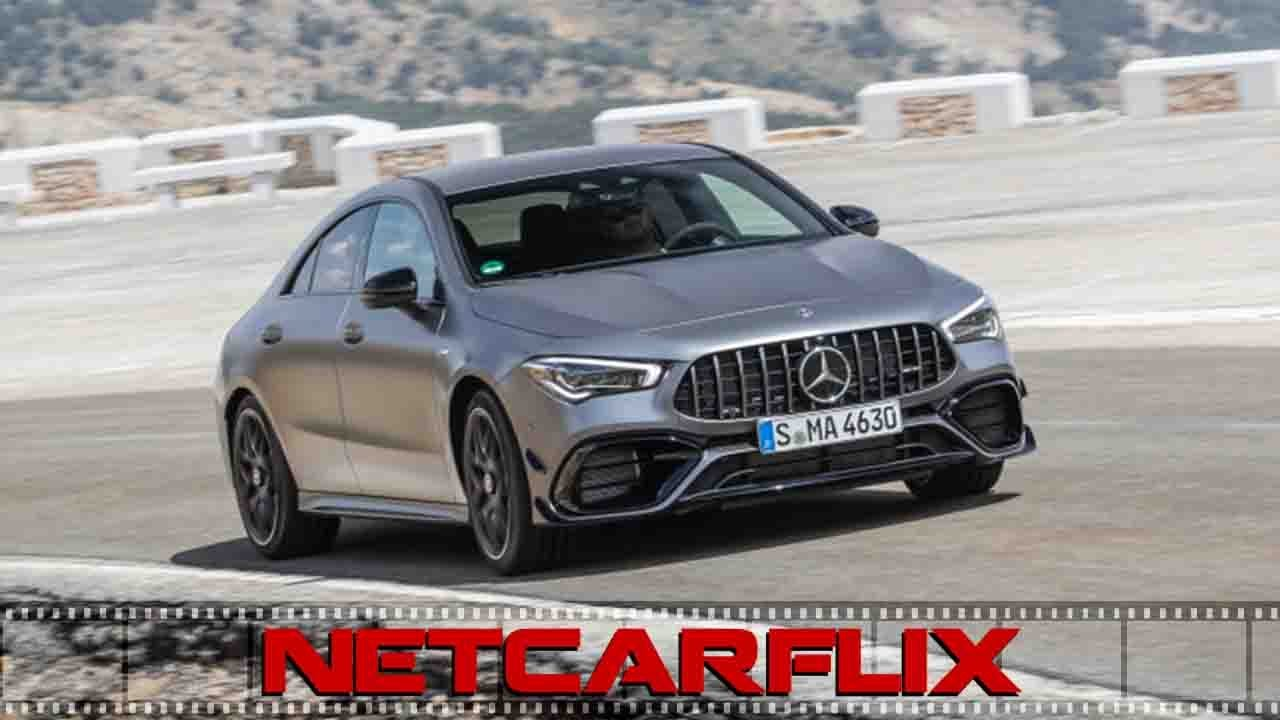 2020 Mercedes Benz CLA 45 S AMG 4MATIC AMG mountain grey