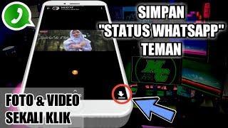 Gambar cover Cara Menyimpan Status Whatsapp Teman Tanpa Aplikasi Tambahan | Trik Whatsapp Terbaru