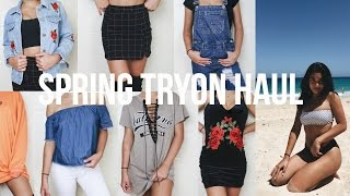 HUGE Spring Tryon Haul ft. Zaful, Shein, & Makemechic ♡ || Marina Hokulani